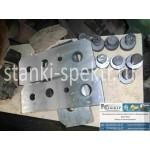 Нож-плиты для резки прутка, круга к пресс-ножницам НГ-5223