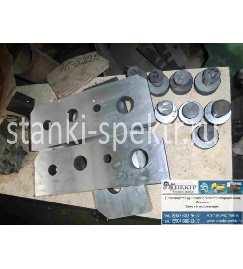 Нож-плиты резки прутка, круга для пресс-ножниц НГ-5223