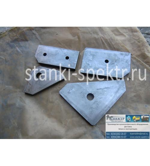 Ножи резки уголка к пресс-ножницам НГ-5222.1