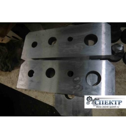 Нож-плиты для резки прутка, круга к пресс-ножницам НГ-5222