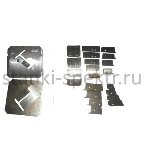 Инструмент реза Швеллера и двутавра для №10-18 в сборе к пресс-ножницам НГ-5222