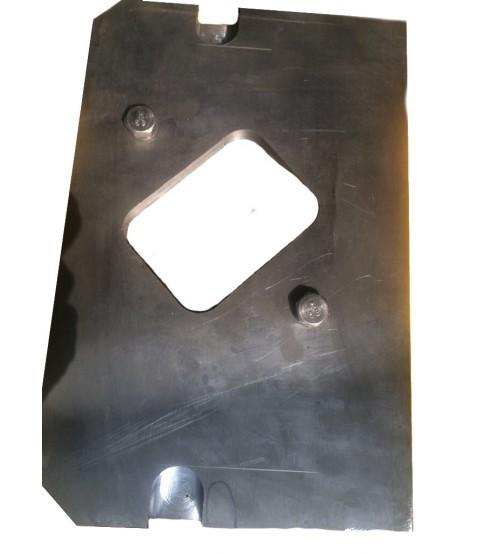 Инструмент реза Швеллера и двутавра для №6-10 к пресс-ножницам НГ-5222.1