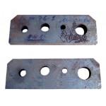 Нож-плиты для резки прутка, круга к пресс-ножницам НГ-5224